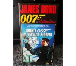 007 - Al servizio segreto di sua maestà - vhs -1996 - Fabbri video -F