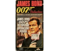 007 COLLECTION JAMES BOND - OCTOPUSSY, OPERAZIONE PIOVRA (VHS) 1997