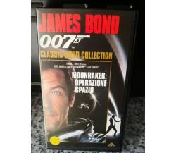 007 - moonraker- operazione spazio - vhs - 1996 - Univideo -F