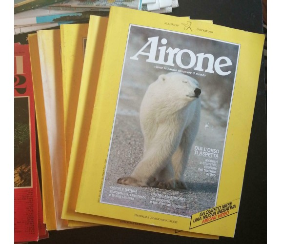 10 Riviste Airone - Autori Vari,  Mondadori - P