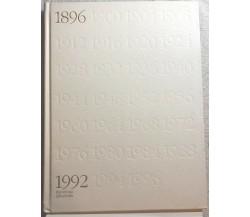 100 anni Olimpici dell'era moderna 1896-1996 di S.e. Juan Antonio Samaranch-marq
