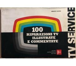 100 riparazioni TV illustrate e commentate di Amadio Gozzi, 1981, Jacopo Castelf