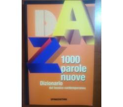 1000 parole nuove - AA.VV. - DeAgostini - 2008 - M