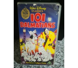 101 dalmatians 1995 VHS - Disney classics -F