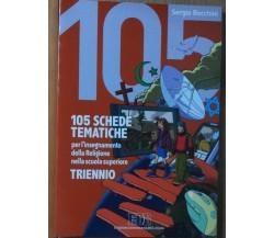 105 schede tematiche - Bocchini - Edizioni Dehoniane Bologna,2007 - R