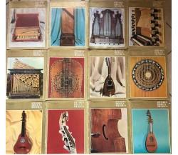 12 Volumi Storia della musica varie annate, Fratelli Fabbri editori