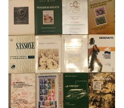 12 libricini filatelici di AA.VV., Editori vari