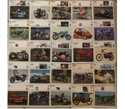 121 schede motociclette DeAgostini