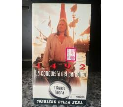 1492 La conquista del paradiso - vhs - 1992 - corriere della sera -F