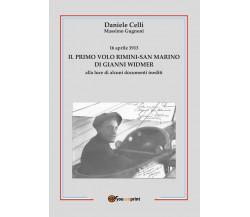 16 aprile 1913. Il primo volo Rimini-San Marino di Gianni Widmer alla luce di al