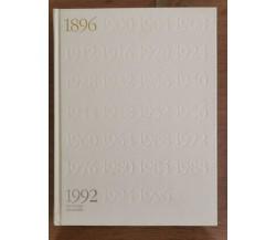 1896-1992 Barcelona Albertville - AA. VV. - 1992 - AR