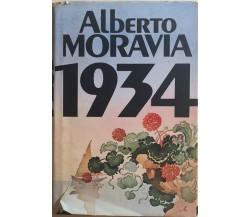 1934 di Alberto Moravia, 1982, Fabbri Bompiani