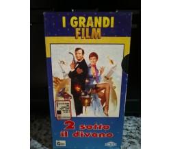2 Due sotto il divano- VHS- FILM Ronald Neame -1994 - hobby e work -F
