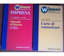 2 Manuali Winner - L'arte di Comunicare/Manuale di finanza - DeAgostini 1994 - L