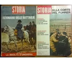 2 Num. Storia illustrata - n. 155, n. 108, Mondadori, 1970, 1966 - L