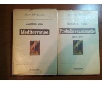 2 VOl. i poeti dello specchio - Umberto Saba - Mondadori - 1955 - M