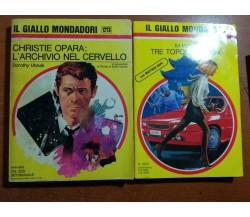 2 Vol. Il giallo mondadori - AA.VV. - Mondadori - 1973   - M