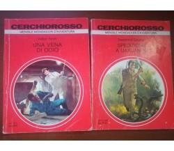 2 Vol. serie cerchiorosso - AA.VV. - Mondadori - 1978 - M
