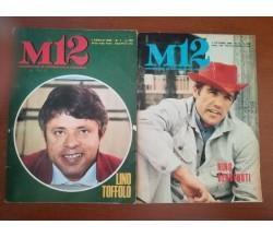 2 riviste M12 - Pasquale Massaro - Sei - 1969 - M