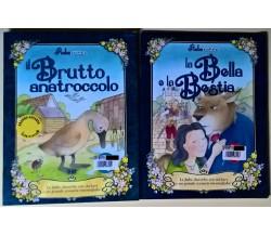 2 vol Fiabe stickers La Bella e la Bestia - Il brutto anatroccolo -G.ED, 2005 -L