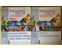 2 vol. Impariamo con un progetto: Itinerari letterari/ Diritti e convivenza -L