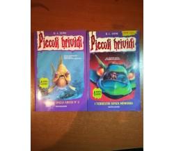 2 vol. Piccoli Brividi - R.L. Stine - Mondadori - 1999 - M