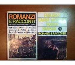 2 vol.Romanizi e Racconti - AA.VV. -Sadea - 1966 - M