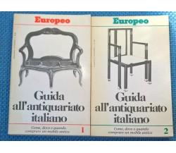 2 voll. Guida all'antiquariato italiano - Aldo Godino - 1980, Europeo - L