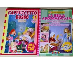 2 voll. Salvadeos: Cappuccetto Rosso Pollicina La Bella addormentata aladino - L
