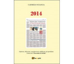 2014. Opinioni, riflessioni, considerazioni, pubblicate sul quotidiano Libertà..