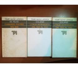 3 Vol,. Tempi nuovi - AA.VV - Laterza - 1976 - M