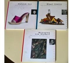 3 Voll. Cutting Edge: Nigel Coates - Patrick Cox - Georgina von Etzdorf 1999 - L