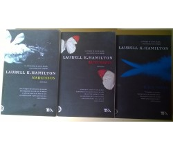 3 Voll. Laurell K. Hamilton: Blue Moon, Butterfly, Narcissus - TEA - L