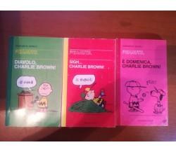 3 fumetti Peanuts - Charles M.Schulz - Balini & Castoldi - 1998 - M