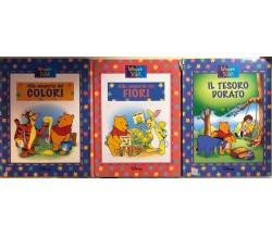 3 libri Winnie the Pooh di AA.VV., 2003, Walt Disney