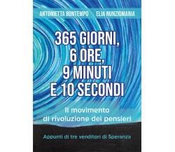 365 giorni, 6 ore, 9 minuti e 10 secondi - Il movimento di rivoluzione dei pens.
