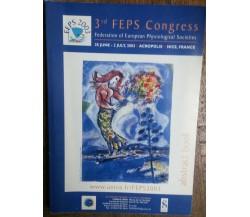 3rd FEPS Congress - AA.VV - Société de Physiological,2003 - R