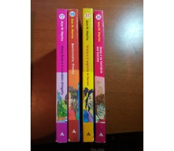 4 Vol. Il club delle baby-sitter - Ann. M.Martin - Mondadori - 2000 - M