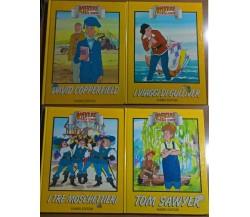 4 voll. Avventure senza tempo: I tre moschettieri, Tom Sawyer e altri - 1990 - L