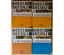 4 voll. Dieci secoli di Letteratura 1A/1B/2B/3A - Fedi, Masi - Mursia, 2004 - L