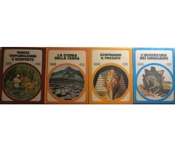 4 volumi Il Club delle Giovani Marmotte di Aa.vv., 1982, Arnoldo Mondadori Edito