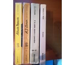 4 volumi  '' i più famosi libri moderni '' - AA.VV. - Bompiani - 1970 - M