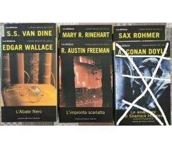 5 numeri de I grandi maestri del giallo  di Aa. Vv.,  2003,  Newton Compton