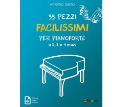55 Pezzi Facilissimi per Pianoforte a 2, 3 e 4 mani di Virginio Aiello,  2019,