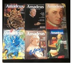 6 numeri Amadeus - Rivista musicale - Vari,  Deagostini - P