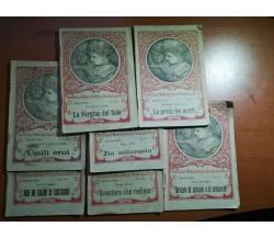7 Vol. Piccola Biblioteca Scolastica - AA.VV. - La scuola - 1922 - M