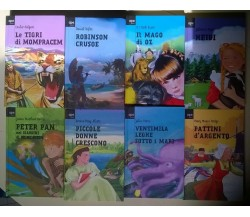 8 voll. Ape junior: Il mago di Oz, Peter Pan, Heidi, e altri - 2011 - L
