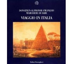 *8833910040* VIAGGIO IN ITALIA | SADE, FRANÇOIS DE BOLLATI BORINGHIERI