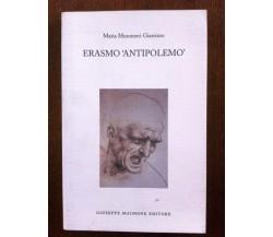 8877512520 / ERASMO «ANTIPOLEMO» / MARIA MUSUMECI GIARRIZZO