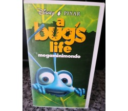 A Bug's Life - vhs -1999 -  Disney - Univideo -F